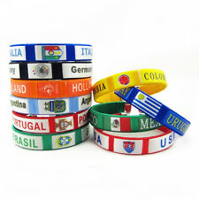 Fashion Football Team Soccer Wristband Soccer Fans Gift Euro2016 France Bracelet