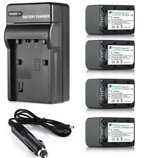 NP-FH70 Battery + Car / War Charger For Sony NP-FH90 NP-FH100 NP-FH30 NP-FH40