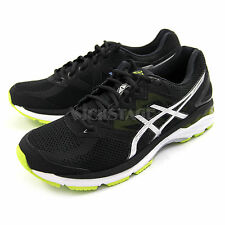 Asics Mens GT-2000 4 Black Silver Running Shoes Sneakers Trainers DS T606N-9093