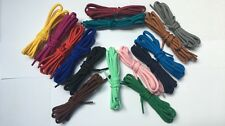 5mm  WIDE CHUNKY ROUND SHOE LACES  15 COLOURS SHOE TRAINER BOOT LACES 8 LENGHTS