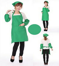 Apron Style Kitchen Halter Pocket Uniform Women Cooking Restaurant