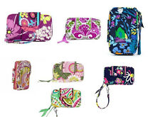 Vera Bradley Smartphone Wristlet Wallet Cell Phone Case New