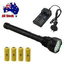Super Bright 18000LM 15x CREE XML T6 LED Flashlight Torch Lamp Light 26650/18650