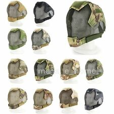 Paintball Mask Full Face Ear Protective Gear Metal Mesh Tactical Airsoft Wargame