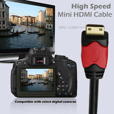 Mini HDMI to HDMI Cable Type C Gold Plated High Speed 3D Audio Full HD 1080p