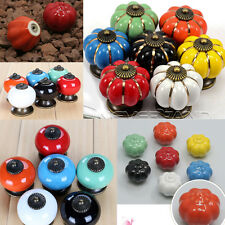 Lots Vintage Retro Ceramic Drawer Cupboard Door Kitchen Cabinet Pull Handle Knob