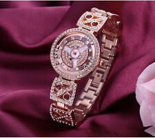 WEIQIN Women Dress Watch Rhinestone Crystal Fashion Bracelet Wristwatches N0T2