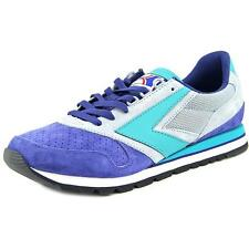 Brooks Heritage Chariot Men  Round Toe Suede Blue Sneakers