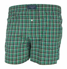 Polo Ralph Lauren Green Plaid Check Boxer Shorts Woven Underwear Gift