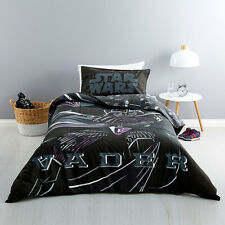 Star Wars Movie Sith Lord Vadar Double Queen Bed Doona Duvet Quilt Cover Set