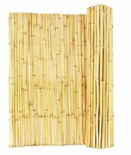 Garden Bamboo Reed Fence Screening Backyard Privacy Fencing Roll Panels Screen