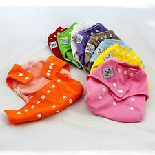 New Newborn Baby Infant Kid Mesh Cloth Diaper Nappy Adjustable All In One Size