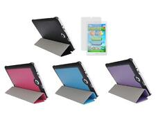 Slim Folio Cover Case + Screen Protector for Acer Iconia One 8 B1-850 Tablet