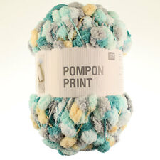 Rico Design 200g Pompon. Various shades - £7.95 all shades Pompom Knitting Wool