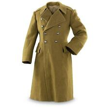Romanian Communist wool army trenchcoat soviet era greatcoat military coat