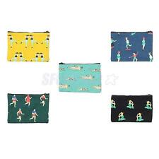 New Fashion Women Girl Cloth Wallet Coin Key Phone Wallet Bag Clutch Short Purse