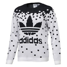 ADIDAS ORIGINALS JEREMY SCOTT OBYO JS PIXEL KNIT SWEATSHIRT TOP SIZE M WINGS