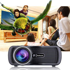 1000 Lumens HD 1080P LED LCD 1000:1  VGA HDMI TV Home Theater Projector Cinema