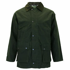 Mens Greenbelt Padded Detatchable Hood Wax Cord Collar Jacket Coat Sizes S-5XL