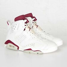 NIKE AIR Jordan 6 VI RETRO 'MAROON' Men's NEW DS OG NIke Air Branding, In Hand!