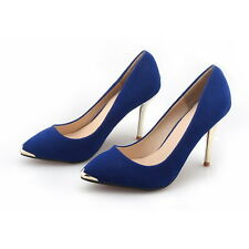 Womens Slim High Heels Pointed Toe Stiletto Party Pump Sandals Shoes Vogue