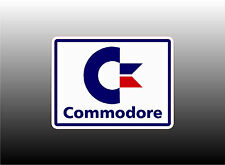 Commodore Computers Logo - Two StylesTo Choose From Bumper Sticker Decal