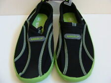 NEW Girls SPEEDO Water Shoes Size 2 3 Youth Beach Sandals Black Aquaskimmers NWT