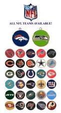 NFL Id Dog Tags * ALL TEAMS! * Football Engraved Puppy Identification Charm Tag