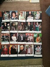 EASTENDERS- UNSIGNED CAST CARDS X 20