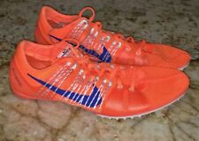 NEW Men 13 NIKE Zoom Victory 2 Orange Royal Blue Mid Distance Track Spikes Shoes