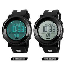 SKMEI 1172 Men Sport Watch Digital LED Display Alarm Chronograph Waterproof Q2L8