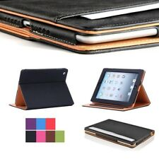 New Soft Leather Wallet Smart Case Cover Sleep / Wake Stand for APPLE iPad Pro