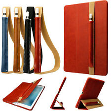 Genuine Leather Sleeve Bag Cover Pouch Holder with Strap For Apple iPad Pencil