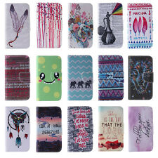 Protective PU Leather Case for iPhone Huawei P8 Lite Sony Samsung Phone Cover