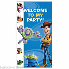 1.65m Disney Pixar's Toy Story Birthday Party Door Sign Poster Banner Decoration