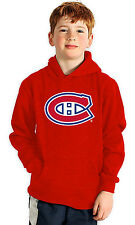 NHL Montreal Canadiens Suede Crest Youth Hoodie