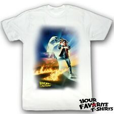 Back To The Future BTF Poster Officially Licensed Adult Shirt S-2XL