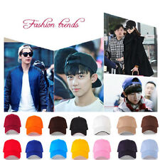 Adjustable Classic New Baseball Cap Cotton Summer Sun 5 Panel Mens Womens Hat