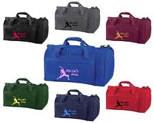 PERSONALISED PRINTED HOLDALL WITH YOGA DESIGN - leotard mat pants top bag