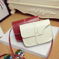 Women Handbag Shoulder Bag Faux Leather Messenger Bag Satchel Purse Tote New AU