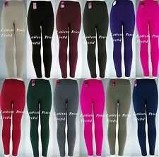 CABLE KNIT FOOTLESS FLEECE Stretch Leggings TX200 ONE SIZE(fits S,M,L,XL)