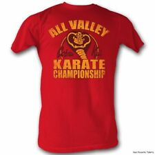 Karate Kid Cobra Kai Karate Championship Officially Licensed Adult Shirt S-2XL