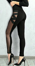 By Alina Women's trousers Leggings Skinny jeans transparent Sexy