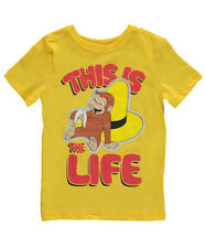 """Curious George Little Boys' Toddler """"This is the Life"""" T-Shirt (Sizes 2T - 4T)"""