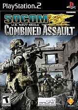 +++ SOCOM COMBINED ASSAULT Sony Playstation 2 PS2 Game COMPLETE +++