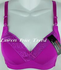 WIRE-FREE Demi Bra AVAILABLE SIZE 36B 38B 34C 36D #7008