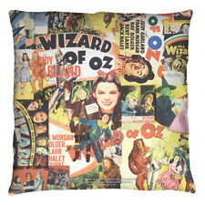 Wizard Of Oz Collage Licensed Decorative Throw Pillow Bed Couch