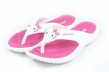 Hello Kitty Women Lovely Flip Flops Shoes for Girls Slippers Summer Beach Pink