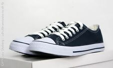 Dek Mens All Star Canvas Lace up plimsole Sneaker Trainers Navy 6 7 8 9 10 11 12