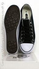 Dek Mens All Star Canvas Lace up plimsole Sneaker Trainers Black 7 8 9 10 11 12